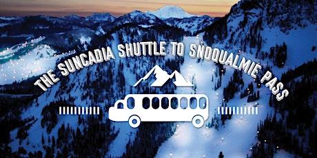 Suncadia Shuttle to Snoqualmie tickets