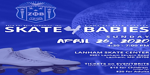Sigma Psi Zeta Chapter March of Dimes Skate for Babies