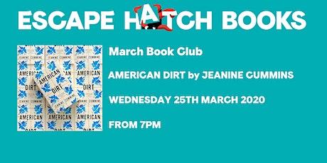 March Book Club tickets