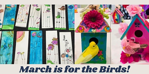 March is for the Birds! Kids Art Class (Ages 6-10)