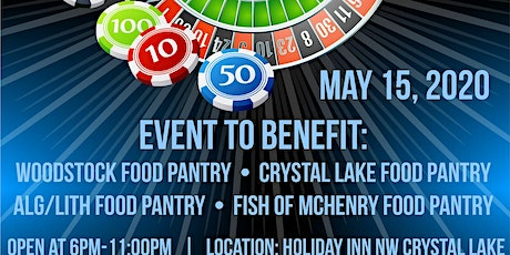 Charity Casino Night (Support 4 local Food Pantry's) tickets