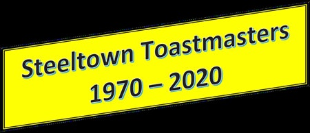 Steeltown Toastmasters 50th Anniversary