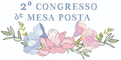 2° Congresso de Mesa Posta do Brasil ingressos