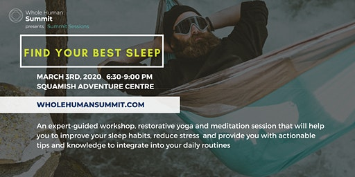 Summit Sessions- Find Your Best Sleep