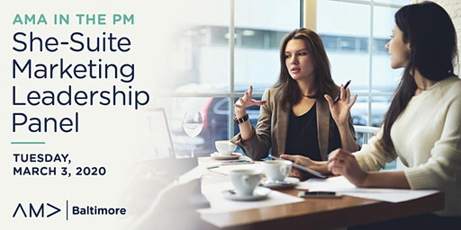 AMA in the PM: She-Suite Marketing Leadership Panel