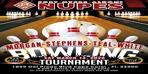 Morgan-Stephens-Teal-White Kappa Bowling Tournament