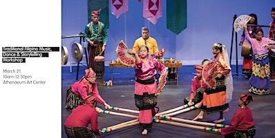 Traditional Filipino Music, Dance & Storytelling Workshop