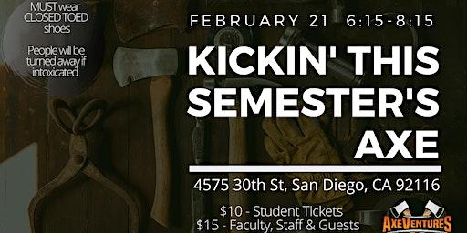 Kickin' This Semester's Axe