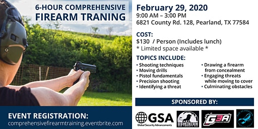 Comprehensive Firearm Training