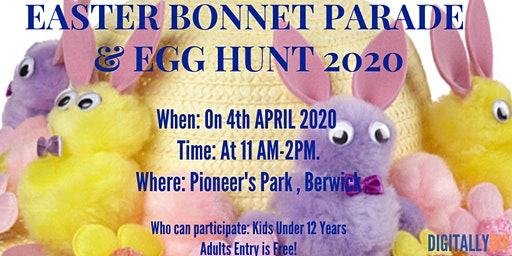 Easter Bonnet Parade and  Egg Hunt -2020