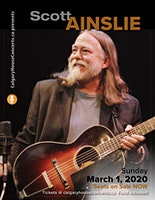 Scott Ainslie House Concert Sunday Mar 1