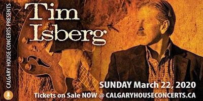 Tim Isberg House Concert Sunday Mar 22
