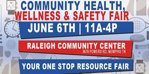 Community Health Wellness Safety Fair