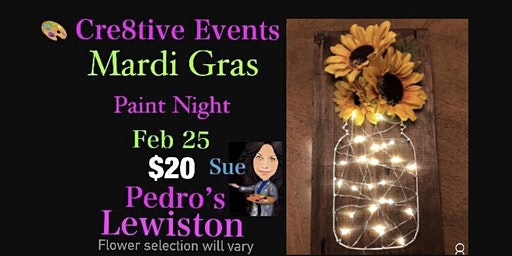$20 Paint Night @ Pedro's Lewiston