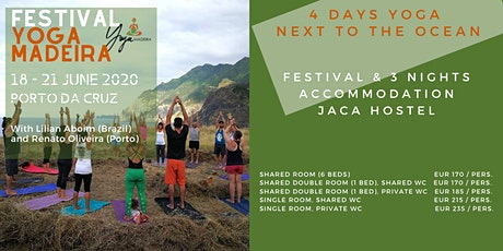 4 Days Yoga Festival and Jaca Hostel 2020 bilhetes