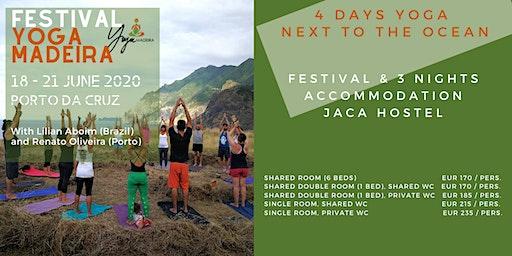 4 Days Yoga Festival and Jaca Hostel 2020