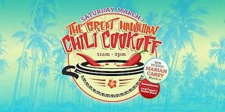 The Great Hawaiian Chili Cookoff tickets