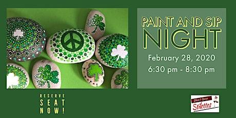 Paint & Sip Night tickets