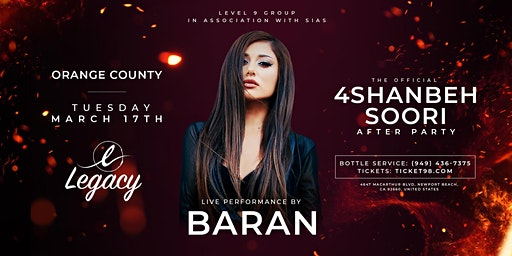 Official Annual 4shanbeh Soori After Party In Orage County
