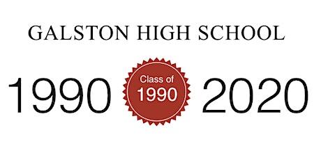 Galston High School 30 Year Reunion - Class 1990 tickets