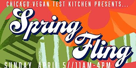 Chicago Vegan Test Kitchen: Spring Fling Market tickets