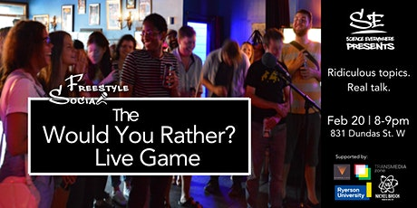 "The ""Would-You-Rather?"" Live Game tickets"