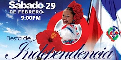 Fiesta-Encuentro Independencia Dominicana entradas