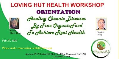 Loving Hut Claremont Health Workshop Orientation