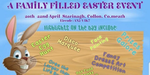 Family Fun Filled Easter  Event
