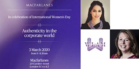 WLAM - IWD - Authenticity in the Corporate Workplace - 3 March @ 9am tickets