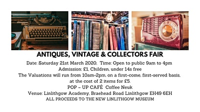Antiques, Vintage & Collectors Fair tickets