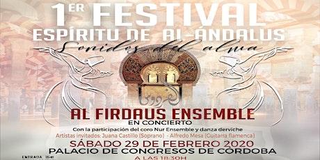 1º festival 'Espíritu de Al-Andalus'. Sonidos del alma entradas