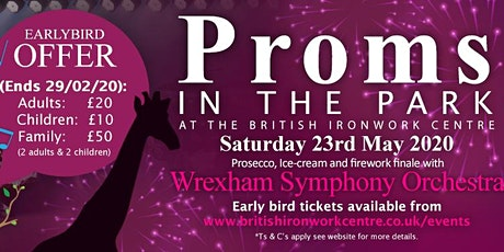 Picnic Proms in the Park 2020 tickets