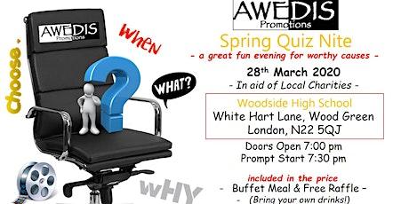AWEDIS Quiz Nite Spring 2020 tickets