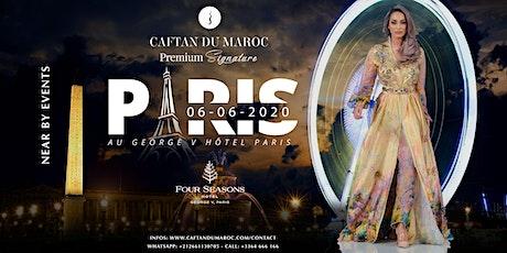 CAFTAN DU MAROC PARIS 2020 billets