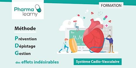 La méthode PDG des effets indésirables : le système Cardio-Vasculaire billets
