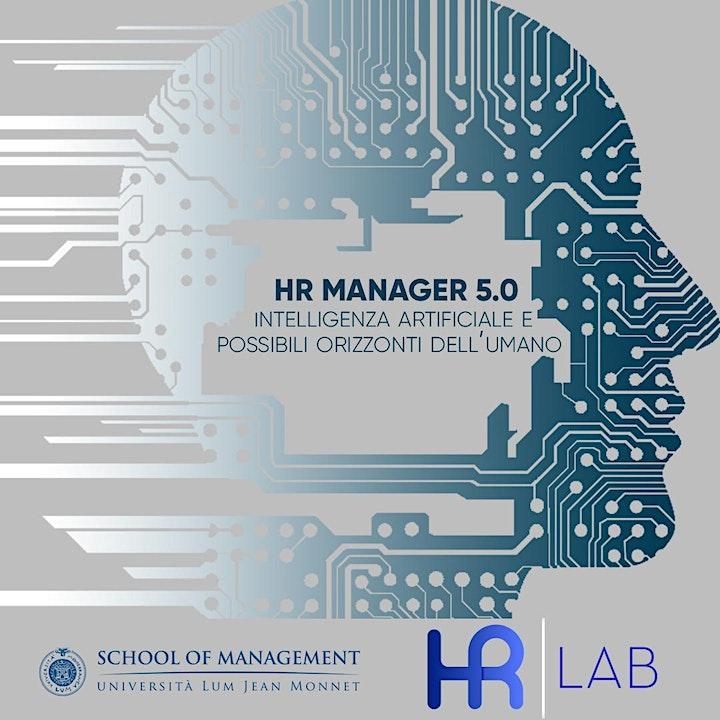 Immagine HR MANAGER 5.0  - Intelligenza artificiale e possibili orizzonti dell'Uomo