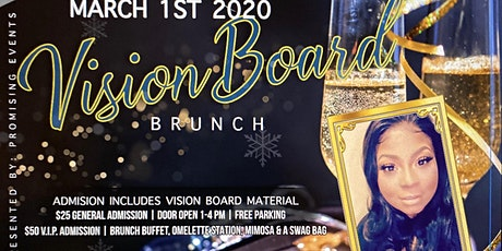 Brunch with my Bossfriend Vision Board Party tickets