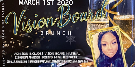 Brunch with my Bossfriend Vision Board Party