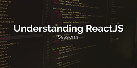 Understanding React - Session 1 tickets