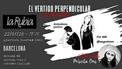 El vértigo perpendicular Barcelona 2ª fecha entradas