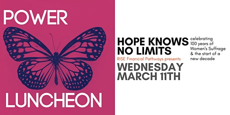 Power Luncheon 2020   Hope Knows No Limits tickets