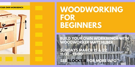 Woodworking for Beginners - 2 Day Workshop tickets
