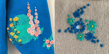 Visible Mending: An Introduction to Creative Embroidery Workshop tickets