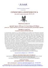 Conoscere la Bioenergetica-Amore e nascita: memorie del corpo-Manuela Bacci biglietti