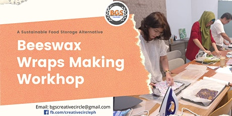 Beeswax Wraps Making Workshop tickets