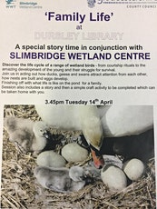 Dursley Library - Family Life with Slimbridge Wetland Centre tickets