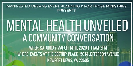 Mental Health Unveiled: A Community Conversation tickets