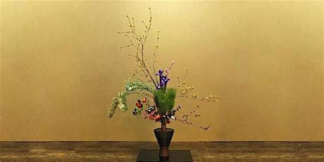 Spring Ikebana - Japanese Flower Arranging Class £45 (inc Hot Meal) tickets