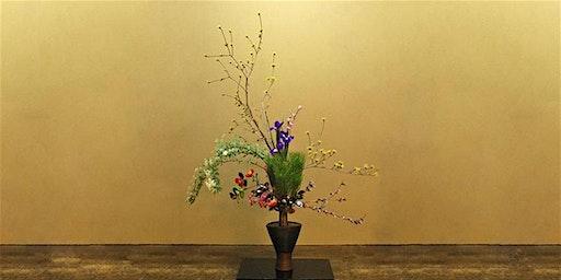 Spring Ikebana - Japanese Flower Arranging Class £45 (inc Hot Meal)